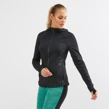 Under Armour Breathelux Bonded Cutout Full Zip Long Sleeve Top