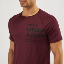 Under Armour Threadborne MK-1 Logo Graphic T-Shirt, 1290638