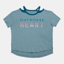 Under Armour Kids' Play With Heart T-Shirt