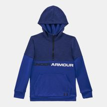 Under Armour Kids' Unstoppable Double Knit Hoodie Blue