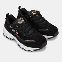 Skechers Women's D'Lites Bright Blossoms Shoe, 1625772