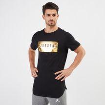 Jordan Sportswear Alt-Hem Foil T-Shirt Black