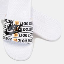 Nike Benassi Just Do It Print Slide Sandals, 1275273