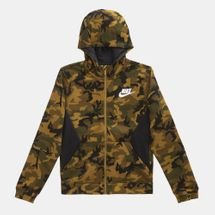 Nike Kids' Sportswear Club Fleece All Over Print Hoodie