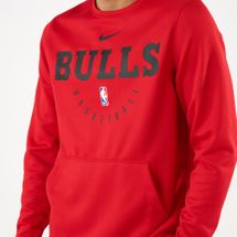 Nike Men's NBA Chicago Bulls Spotlight Crew Sweatshirt, 1529704