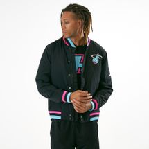 Nike Men's NBA Miami Heat Courtside Jacket