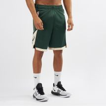 Nike NBA Milwaukee Bucks Road Swingman Shorts