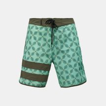 "Hurley Phantom Block Party Drum Circle 18"" Board Shorts"