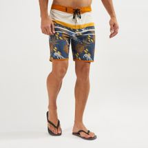 "Hurley Phantom Back Bay 18"" Board Shorts"