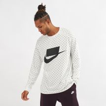 Nike Sportswear Long Sleeve T-Shirt White