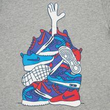 Nike Kids' Sportswear Sneaker Pile T-Shirt, 1381793