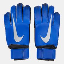 Nike Match Goalkeeper Football Gloves Blue