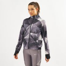 Nike Shield Flash Hooded Print Jacket
