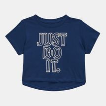 Nike Kids' Sportswear JDI Cropped T-Shirt (Older Kids)