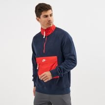 Nike Sportswear Half-Zip Top Blue