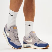 Nike Air Max 1 Shoe Grey
