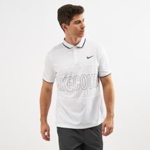 Nike Court Dri-FIT Graphic Tennis Polo T-Shirt