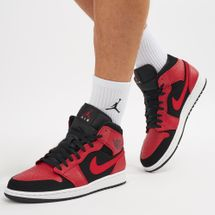 Jordan Air Jordan 1 Mid Shoe Black