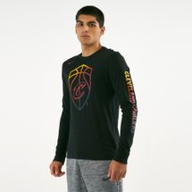 Nike Men's Cleveland Cavaliers Dry Long Sleeve T-Shirt