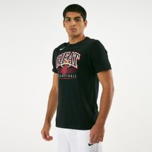 Nike Men's NBA Miami Heat Dry ES Crest T-Shirt