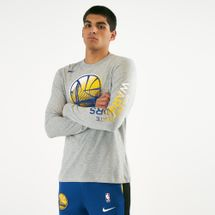 Nike Men's NBA Golden State Warriors Long Sleeve T-Shirt