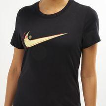 Nike Women's Sportswear Double Swoosh T-Shirt, 1482691