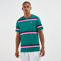 Nike Court Men's Striped Tennis T-shirt