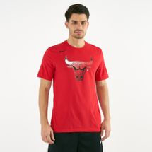 Nike Men's NBA Chicago Bulls Dri-FIT T-Shirt