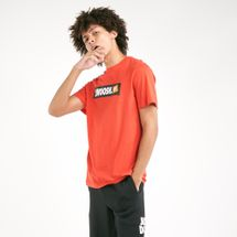 Nike Men's Swoosh Box Logo T-Shirt