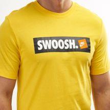 Nike Men's Swoosh Box Logo T-Shirt, 1482646