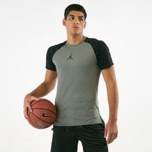 Jordan Men's Dri-FIT 23 Alpha Print Basketball T-Shirt Green