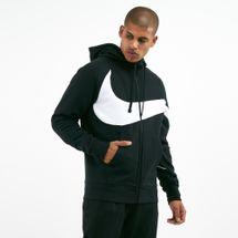 Nike Men's Full-Zip Swoosh Raglan Hoodie