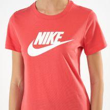 Nike Women's Sportswear Essential T-Shirt - Orange, 1536016