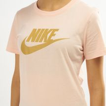 Nike Women's Sportswear Essential Icon Futura T-Shirt, 1489232