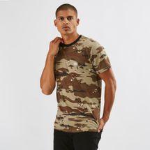 Vans Desert Camo Ringer T-Shirt