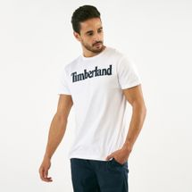 Timberland Men's Kennebec River Brand Regular T-Shirt White
