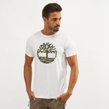 Timberland Camo Tree and Camo Logo T-Shirt, 1290769