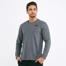 The North Face Men's Simple Dome Long Sleeve T-Shirt