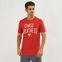 Under Armour Project Rock Chase Greatness T-Shirt