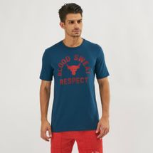 Under Armour Project Rock Blood Sweat Respect T-Shirt