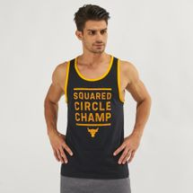 Under Armour Project Rock Squared Circle Champ Graphic Tank Top