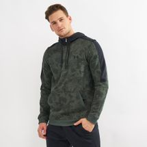 Under Armour Microthread Fleece Camo 1/2 Zip Jacket