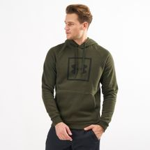 Under Armour Rival Fleece Logo Hoodie Green
