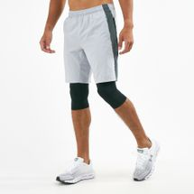 Under Armour Men's Launch SW 2-in-1 Long Shorts
