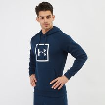 Under Armour Rival Fleece Logo Hoodie Blue