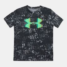 Under Kids' Armour Tech Big Logo Printed T-Shirt, 1329999