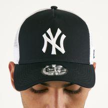 New Era Men's MLB New York Yankees Clean Trucker 9FORTY Cap - Blue, 1603672