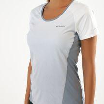 قميص قصير الأكمام سولار تشيل 2.0 من كولومبيا للنساء, 1570812