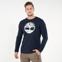 Timberland Men's Tree Logo Ringer T-Shirt