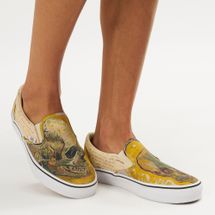Vans x Van Gogh Museum Skull Classic Slip-On Shoe